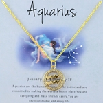 Zodiac Aquarius Necklace