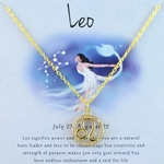 Zodiac Leo Necklace