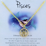 Zodiac Pisces Necklace