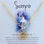Zodiac Scorpio Necklace