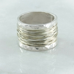 Silver Entwined Band